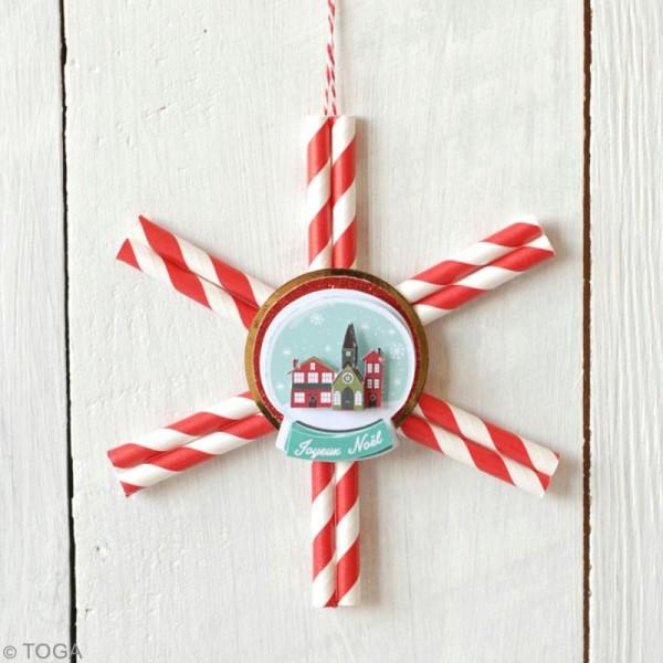 Die cut Toga Etiquettes - Joyeux Noël - 24 pcs - Photo n°2
