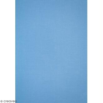 Daily like Bleu jeans uni - Tissu adhésif A4
