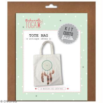 Kit Tote bag à décorer 38 x 40 - Blanc