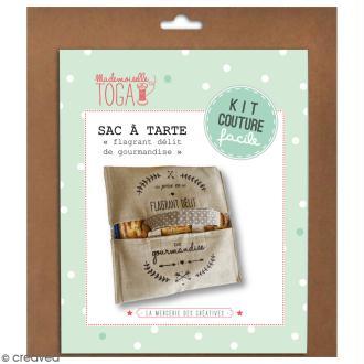 Kit couture - sac à tarte - Beige