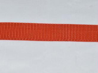 Sangle Polypropylène – 25 mm – Orange Brulé - Qualité extra – Coupe au mètre sur mesure