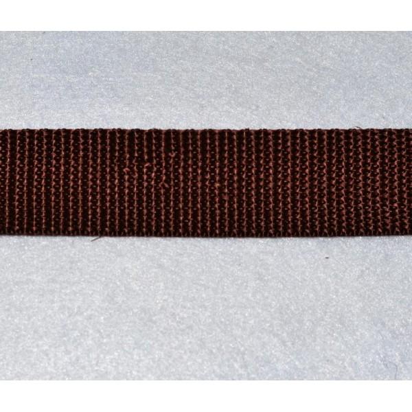 Sangle Polypropylene 15 mm Lot de 2 mètres Marron Qualité extra