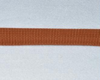 Sangle Polypropylène – 25 mm – Brun - Qualité extra – Coupe au mètre sur mesure