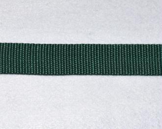 Sangle Polypropylène – 25 mm – Vert Sapin - Qualité extra – Coupe au mètre sur mesure