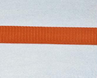 Sangle Polypropylène – 25 mm – Rouille - Qualité extra – Coupe au mètre sur mesure