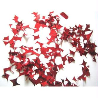 1 Kilo Confettis Fragments Métalliques Rouge