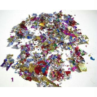 1 Kilo Confettis Paillettes Métalliques Multicolores