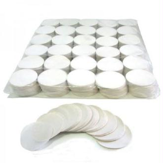 100 Gr Confettis Papier Ronds Blancs 5 cm