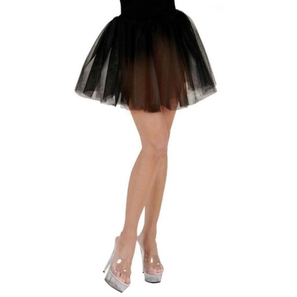 209f99659d81ef Tutu jupon 30 noir noir en tulle 2 plis - Taille S/M/L