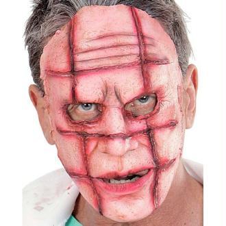 Masque cicatrice horrible (demi-masque)