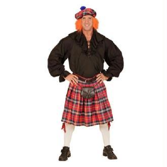 Set Écossais Chapeau et Kilt (40 au 46)