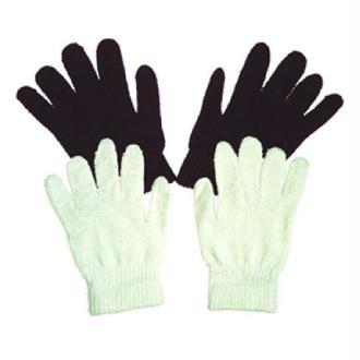 Paire de gants noirs