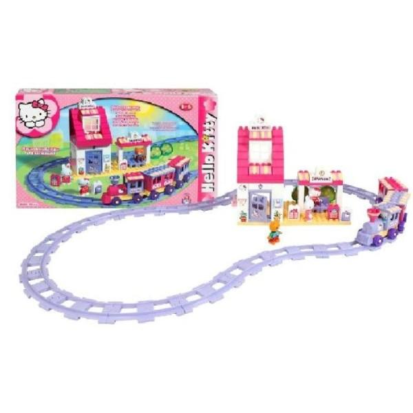 Kitty Train Pièces Hello 95 Train sdChrxQt