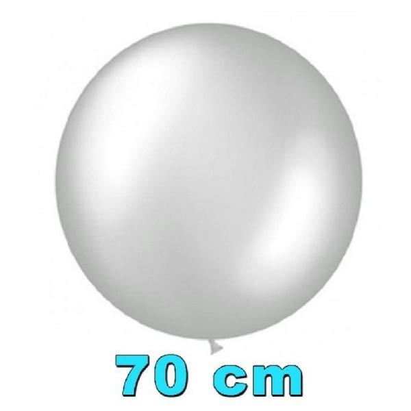 Ballon argent ultra-géant 70 cm - Photo n°1