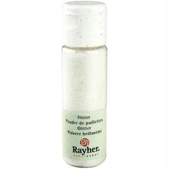 Poudre de paillettes ultrafine Blanc 20 ml