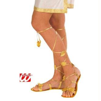 Paire de sandales avec jambières