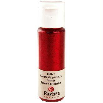 Poudre de paillettes ultrafine Rouge 20 ml