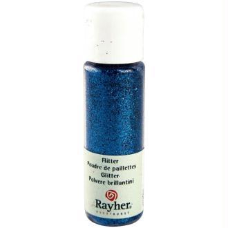 Poudre de paillettes ultrafine Bleu azur 20 ml
