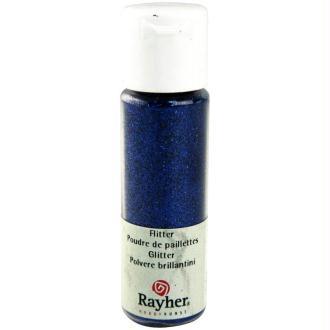 Poudre de paillettes ultrafine Bleu saphir 20 ml