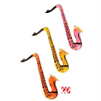 1 Saxo gonflable (couleurs assorties )
