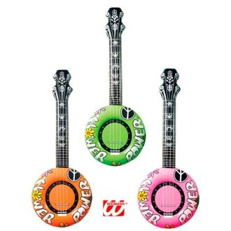 1 Banjo gonflable (couleurs assorties)