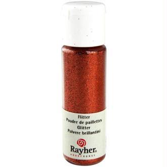 Poudre de paillettes ultrafine Cuivré brillant 20 ml