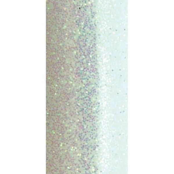 Poudre de paillettes à effet Blanc aurore boréale 10 ml - Photo n°3