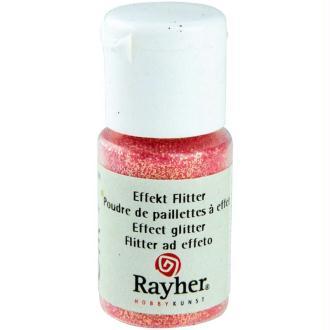 Poudre de paillettes à effet Rose pastel 10 ml