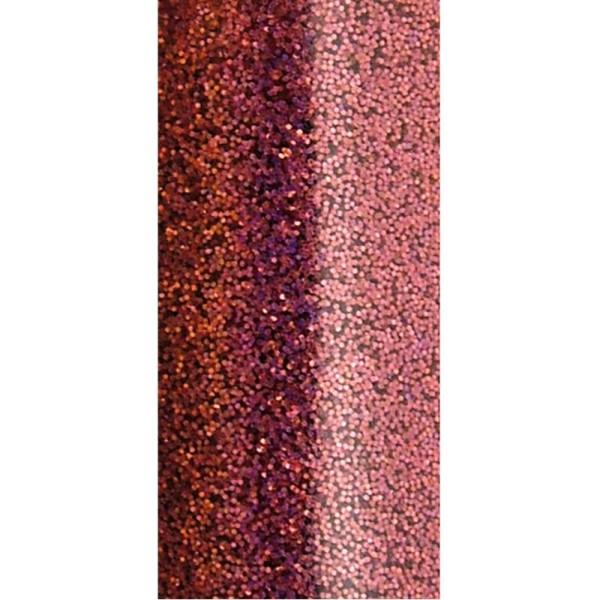 Poudre de paillettes à effet Rose foncé 10 ml - Photo n°3