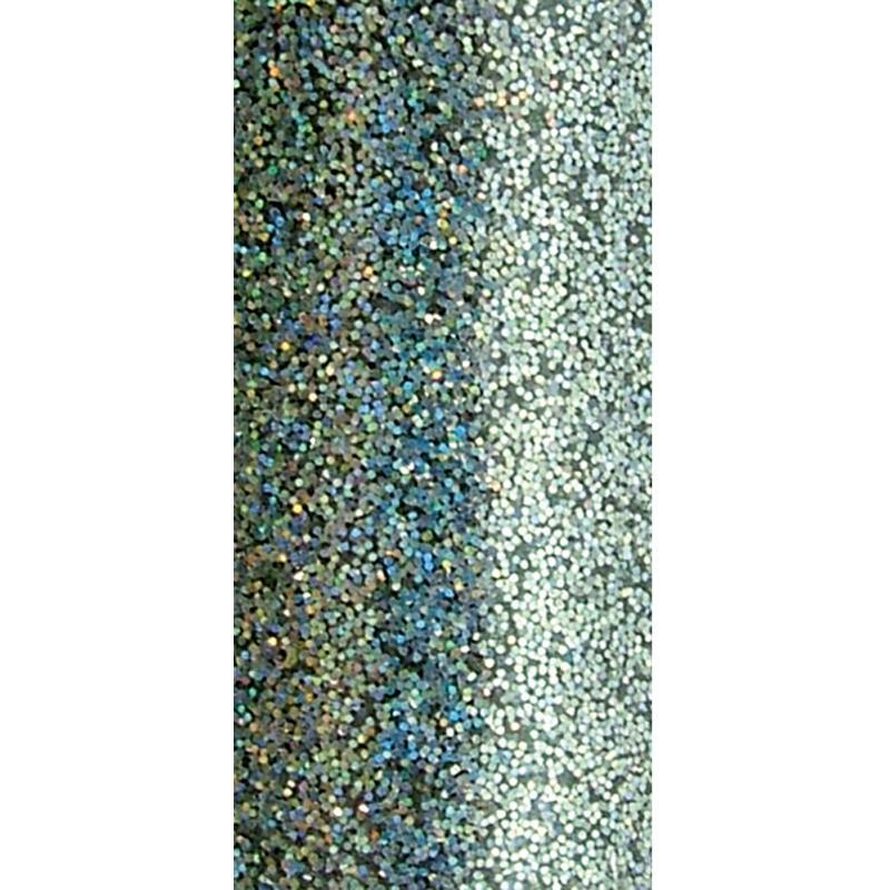 Poudre de paillettes à effet Argent brillant 10 ml - Photo n°3