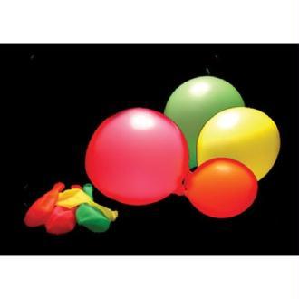 100 ballons Fluorescent assortis
