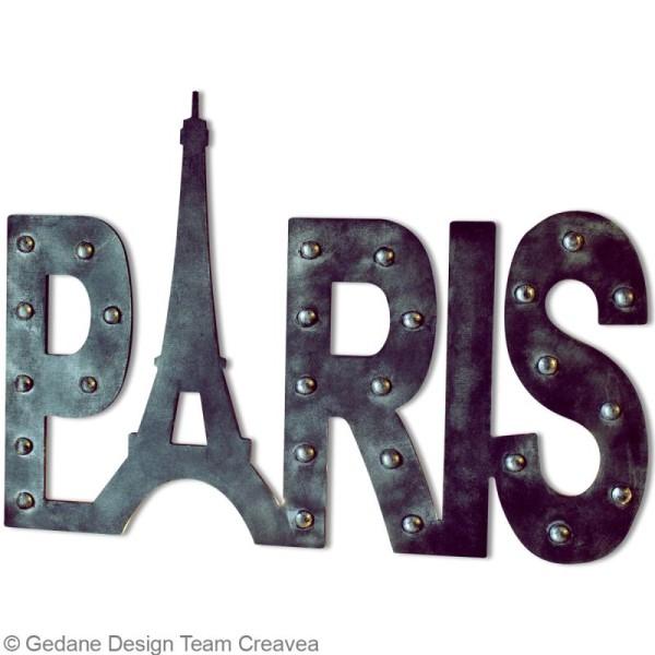 Paris en bois 58 cm - Photo n°2