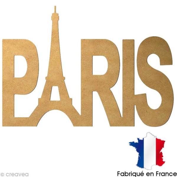 Paris en bois 58 cm - Photo n°1