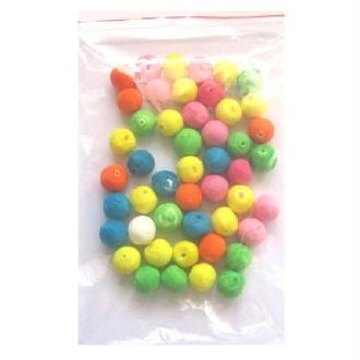 40 Boules à Sarbacane Multicolores
