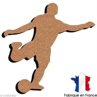 Footballeur en bois 16 cm