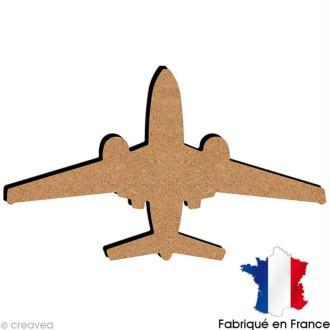 Avion en bois 18,5 cm