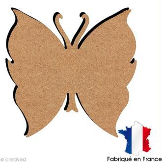 Papillon en bois 13 cm
