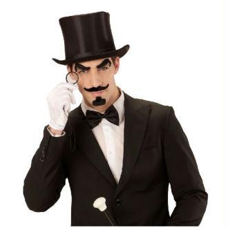 Set gentleman (sourcils, moustache, bouc, monocle)