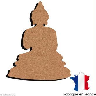 Bouddha en bois 15 cm