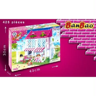 BANBAO construction fleuriste 425 pièces