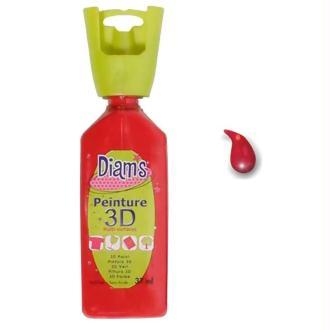 Peinture 3D Diam's Rouge profond - 37ml
