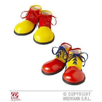Chaussures de clown enfant 6/12 ans