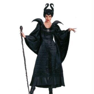 Déguisement princesse des ténèbres avec coiffe - Taille S/M
