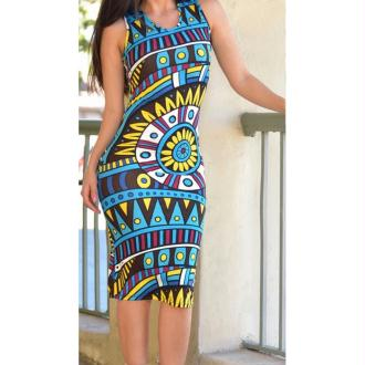Robe soleil des Andes - taille S
