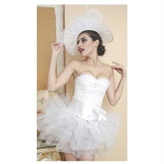 Corset White Swan - Taille L/XL