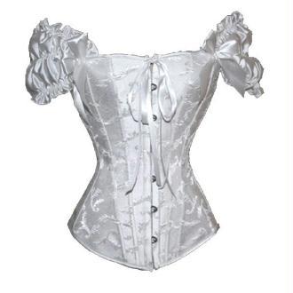 Corset Blanc Romance - Taille S/M