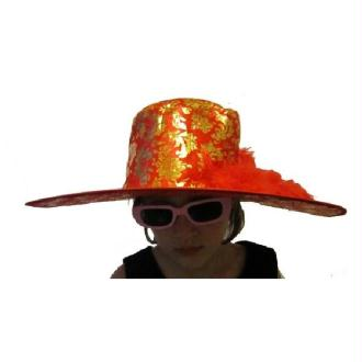 Chapeau rouge lady chaterley