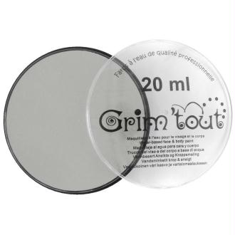 Maquillage professionnel Grim'tout Fard Gris Galet 20 ml - Sans paraben