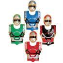 4 plastron et robot enfant masqué PVC 4-8 ANS - Photo n ° 1