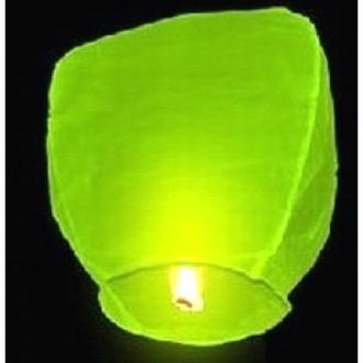 Lanterne céleste vert anis 90 x 50 cm